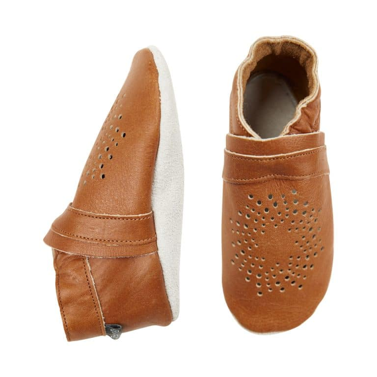 Baby Lederschuhe - Antique Brown